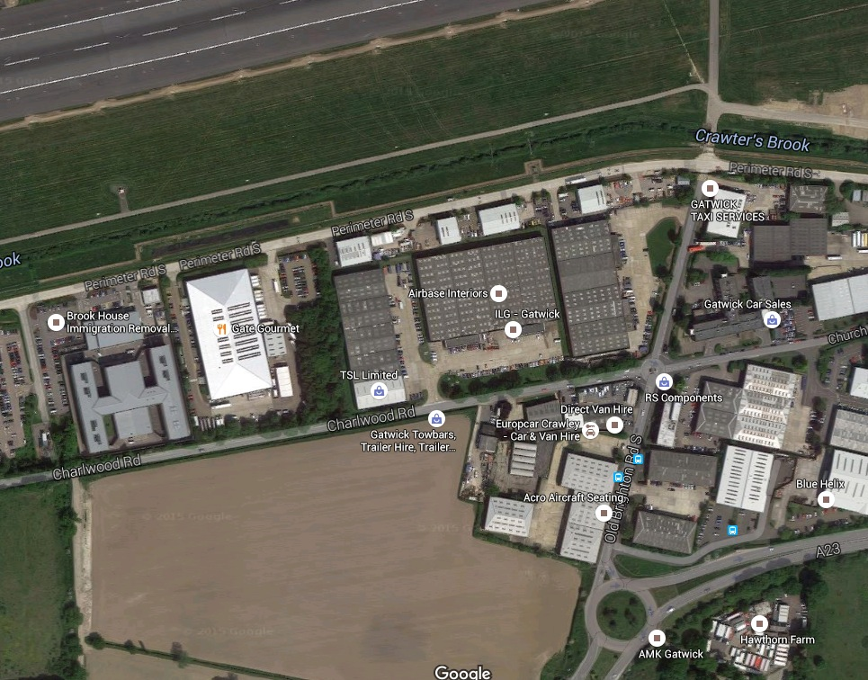Gatwick-satellite-view