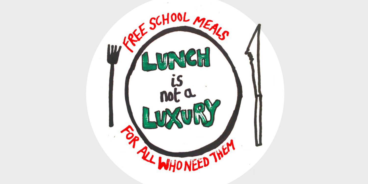 lunch is not a luxury